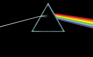 Pink Floyd's Dark Side of the Moon, half of the Dark Side of the Rainbow