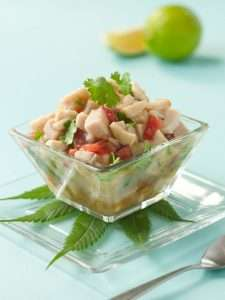 Marijuana Recipes -- Chef Herb Seidel's Cannabis Ceviche