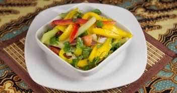 Marijuana Recipes - Thai Mango Salad