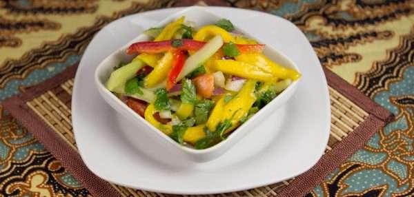 Marijuana Recipes - Thai Mango Salad