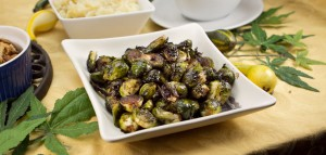 Balsamic Brussels Sprouts - Marijuana Recipes