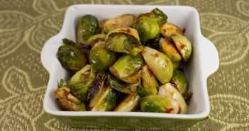 Marijuana Recipes - Chipotle Lime Brussels Sprouts
