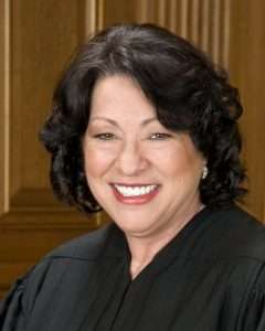 Justice Sonia Sotomayor, US Supreme Court, illegal search